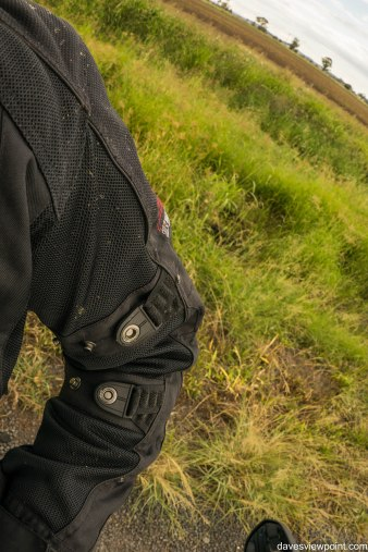 Never assume that your jacket will avoid the onslaught of bugs and road dust.