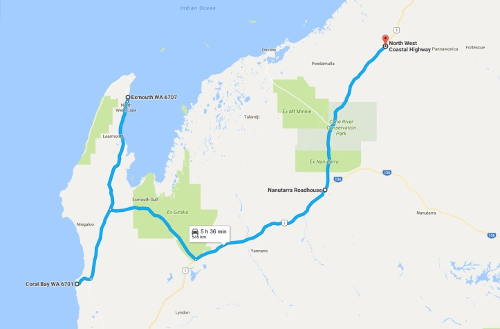Day 12 - Map - Coral Bay to Fortescue.jpg