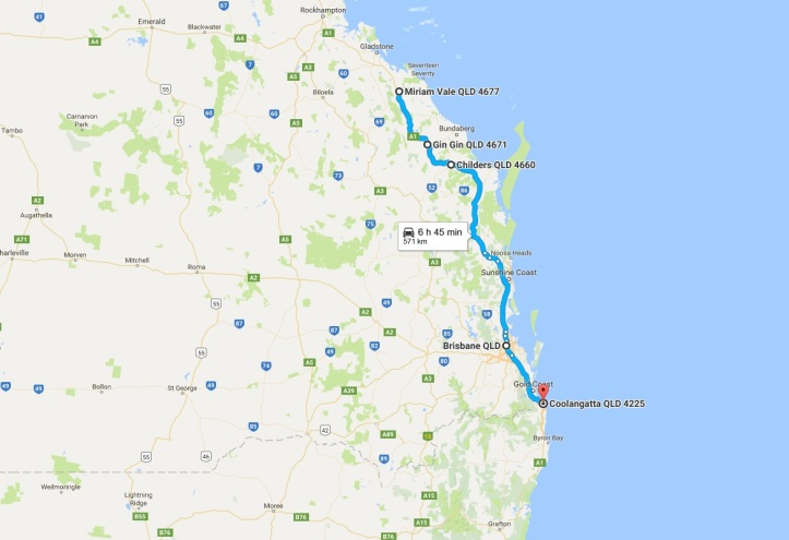 Day 24 - Map - Rockhampton to Gold Coast.jpg