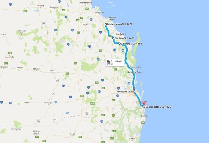 Day 24 - Map - Rockhampton to Gold Coast.jpg