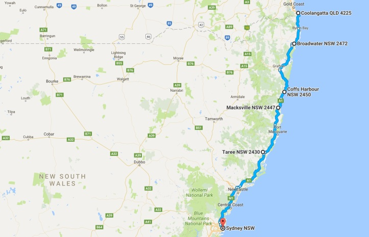 day-5-map-grom-tourer-gold-coast-to-sydney