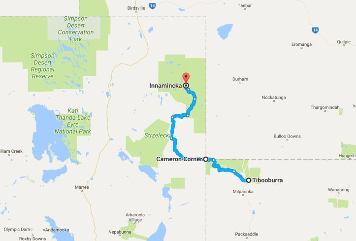 Africa Twin - Outback 2017 - Map - Day 3.JPG
